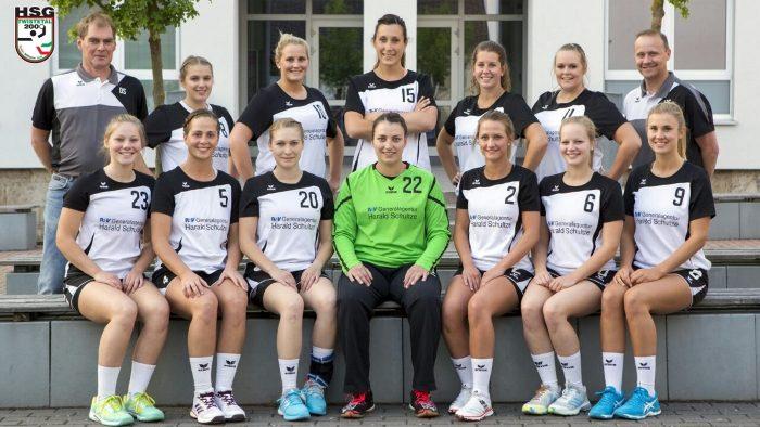 Mannschaftsfoto Damen 1