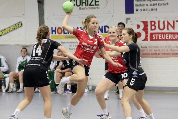 HSG Twistetal - TSV Heiligenrode 21:16 (9:6)