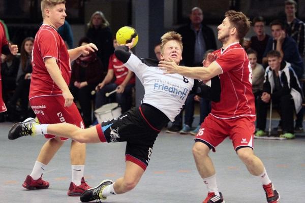 HSG Twistetal – GSV Eintracht Baunatal II 25:17 (12:5)