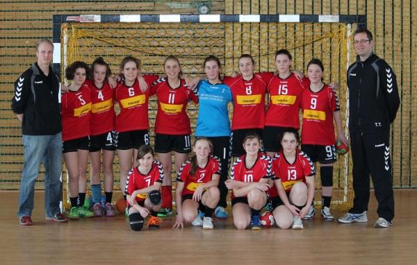 weibliche C-Jugend beste Mannschaft im Bezirk Kassel/Waldeck
