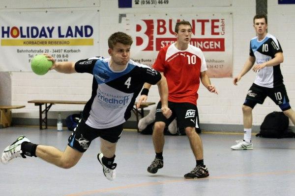 HSG Twistetal - TSV Vellmar II 31:26 (16:13)