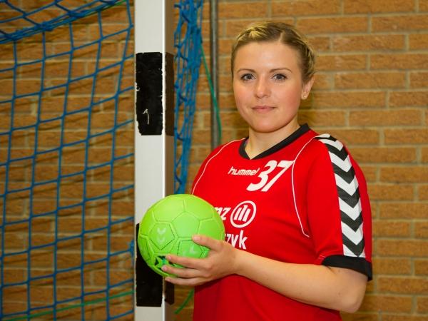 Spielerin Mariélle Schlodder verstärkt die Damenmannschaft