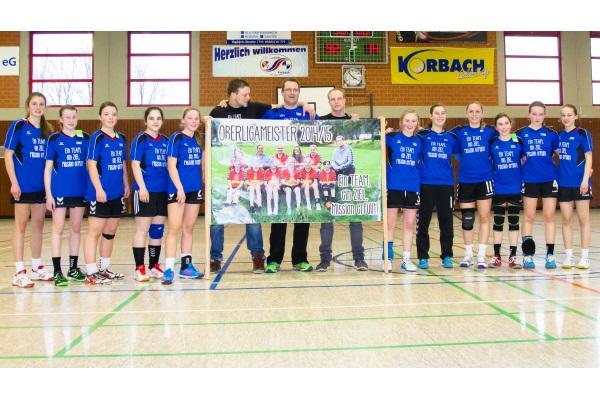 Die weibliche C-Jugend fährt zur Hessenmeisterschaft